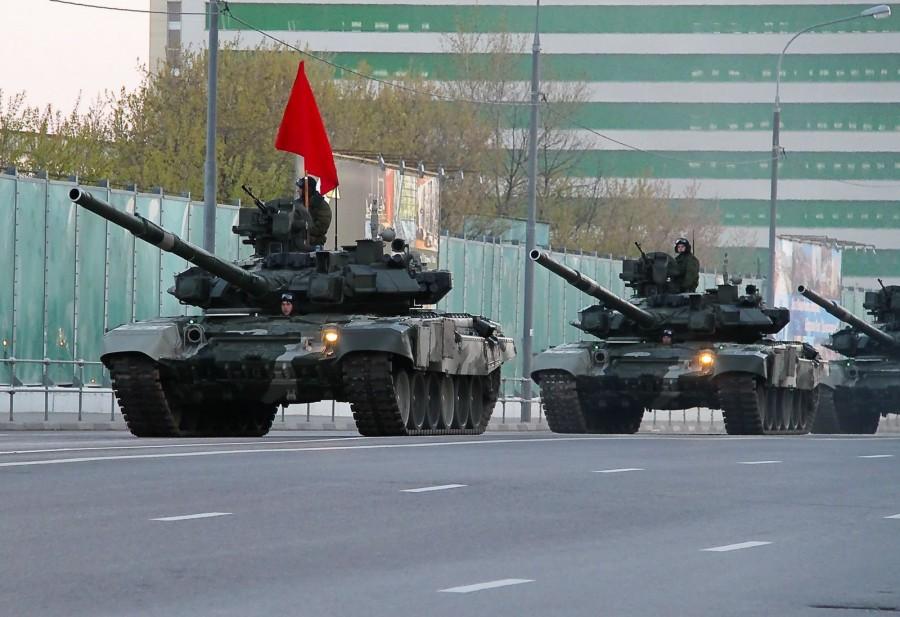 Tanque T-90 do exército russo