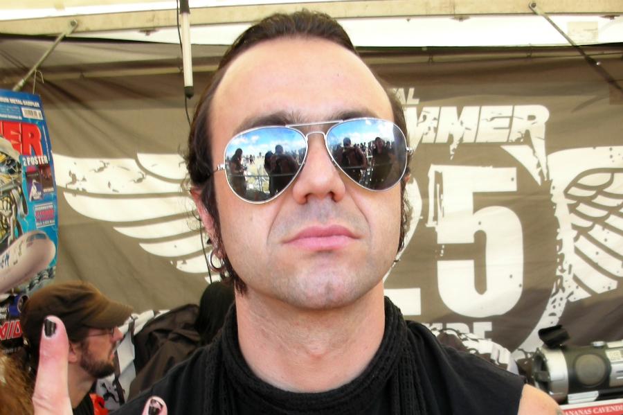 Fernando Ribeiro, vocalista dos Moonspell