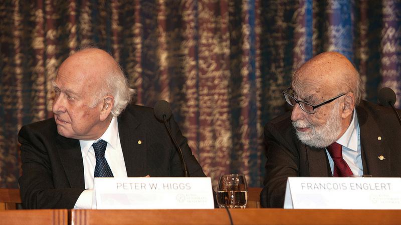 Peter Higgs e François Englert, prémio Nobel da Física 2013