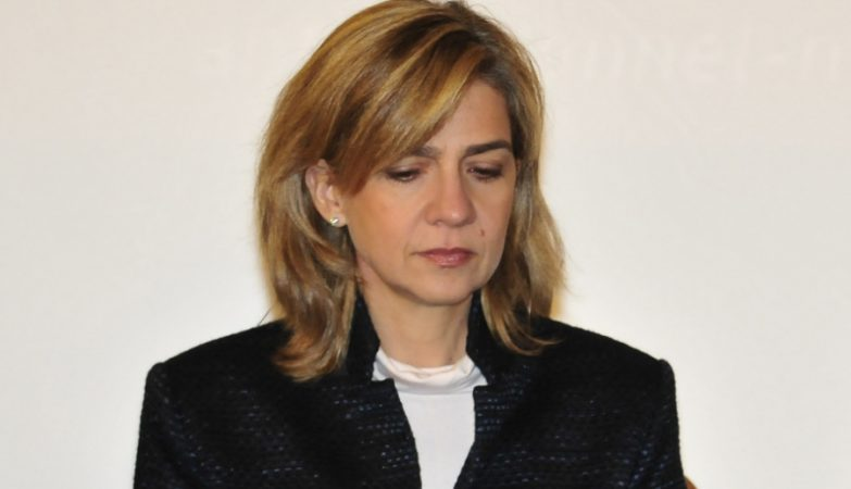 A Infanta Cristina de Borbón
