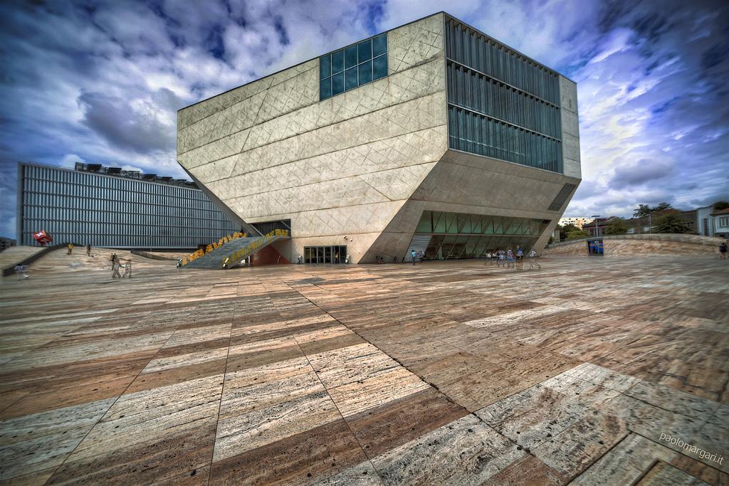 Casa da Música, no Porti, uma das obras emblemáticas da Capital Europeia da Cultura 2001