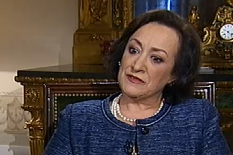 "Joana Marques Vidal no programa ""Grande Entrevista"" da RTP"