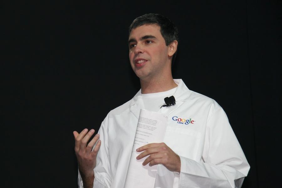 Larry Page, um dos fundadores do Google