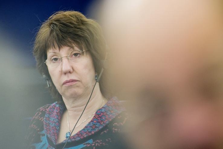Catherine Ashton, chefe da diplomacia da União Europeia