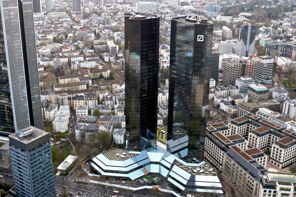 Sede do Deutsche Bank em Frankfurt, na Alemanha