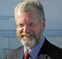 O diretor do Instituto Helmholtz, Peter Herzig