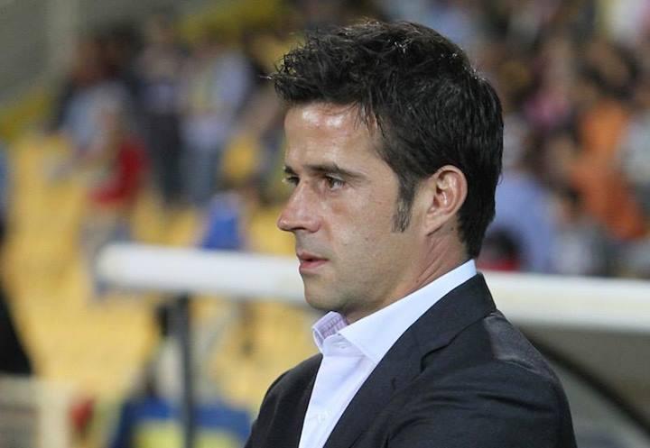 O treinador Marco Silva