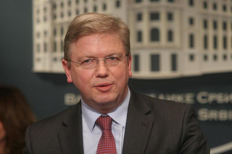 Stefan Fule, responsável comunitário do Alargamento