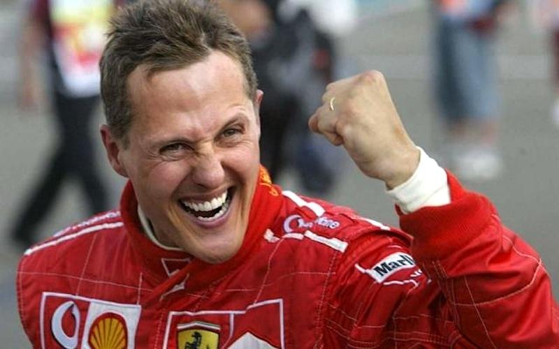 Michael Schumacher, 7 vezes campeão do Mundo de Fórmula 1