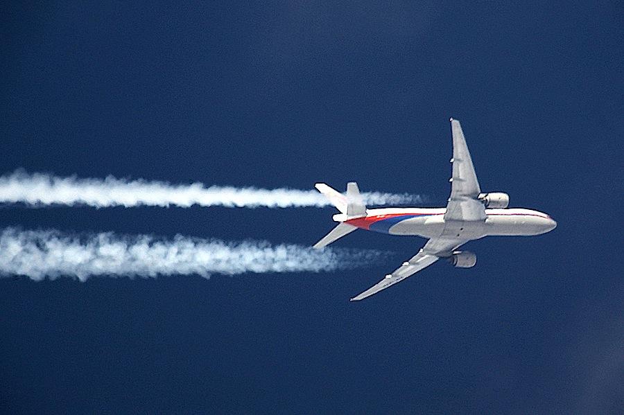 Avião Boeing 777 da Malaysia Airlines