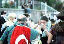 Protestos em Istambul, Turquia, em 2013
