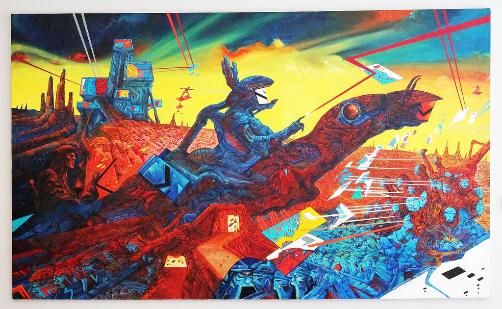 Don Quixote por Philippe Druillet (1985)
