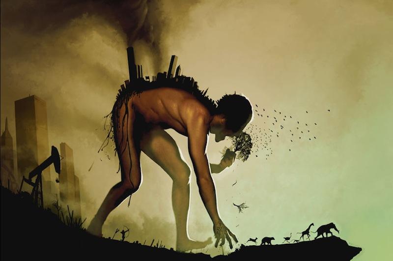 """Detalhe do cartaz de """"END:CIV"""", filme de Franklin Lopez, 2011"""