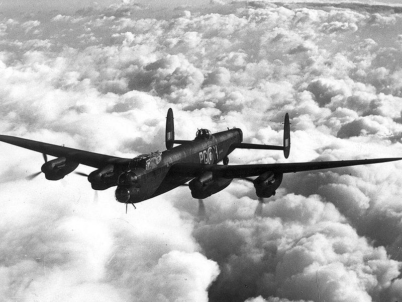 Uma aeronave Avro Lancaster Mk 1 ExCC, semelhate ao Stardust desaparecido em 1947
