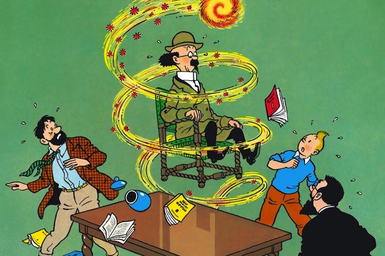 Tintin e As Sete Bolas de Cristal