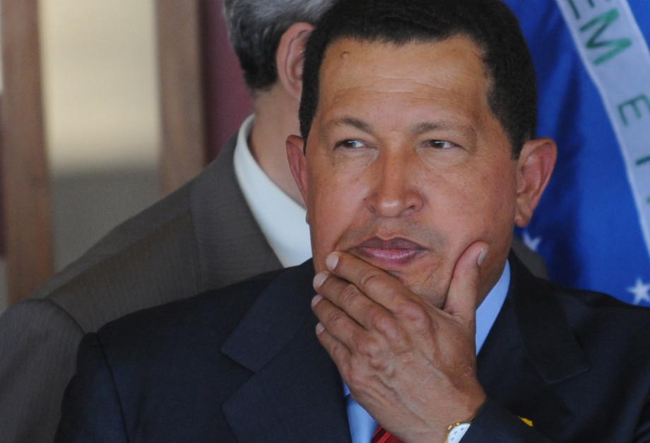 Hugo Chávez, presidente da Venezuela falecido a 5 de março de 2013