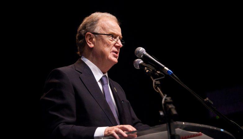 O ex-presidente da República, Jorge Sampaio