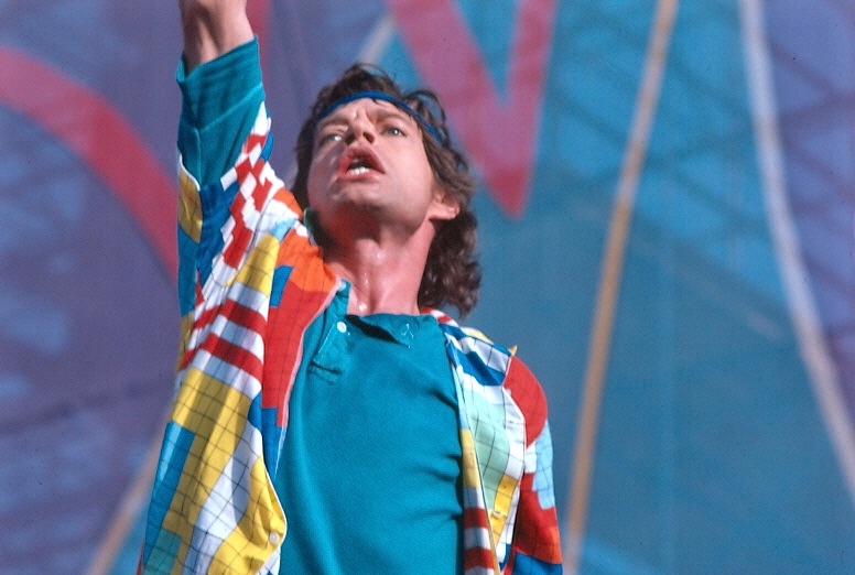 Mick Jagger, vocalista dos Rolling Stones