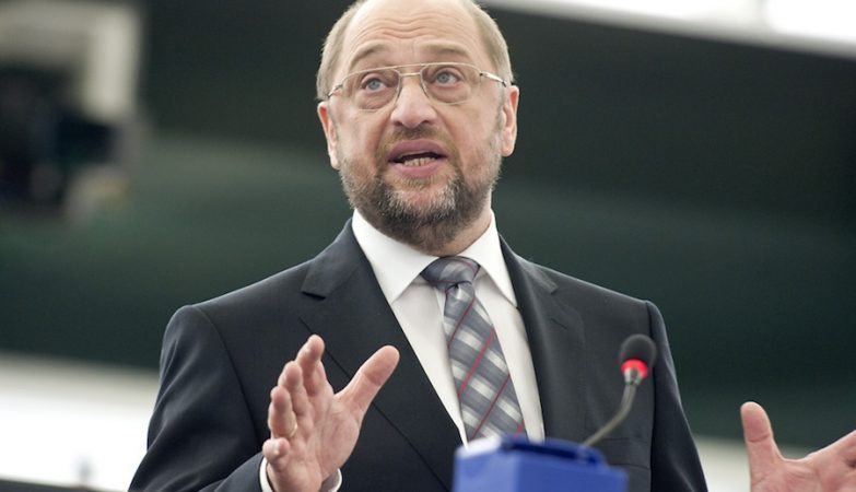 Martin Schulz,  presidente do Parlamento Europeu