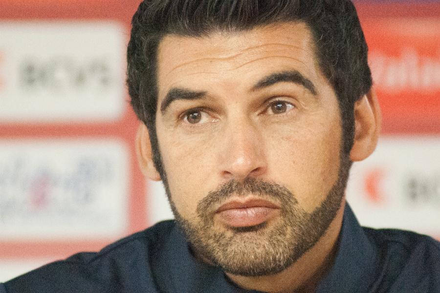 O treinador Paulo Fonseca