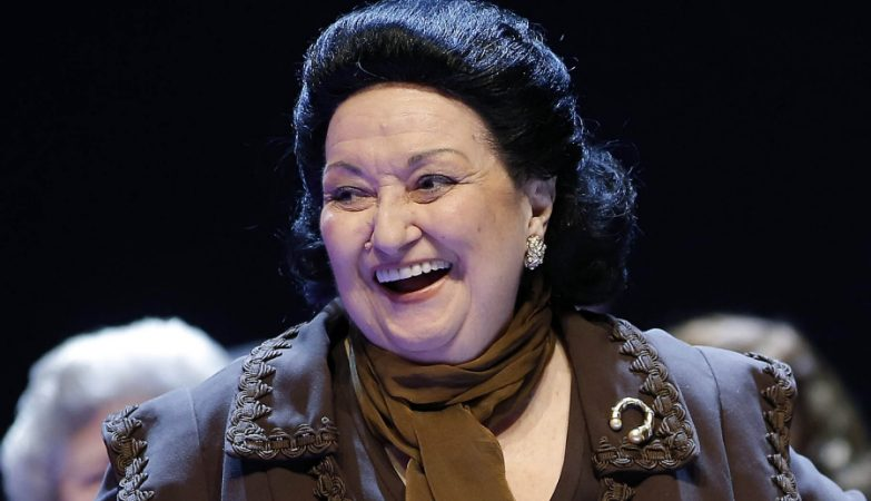 A soprano catalã Montserrat Caballé
