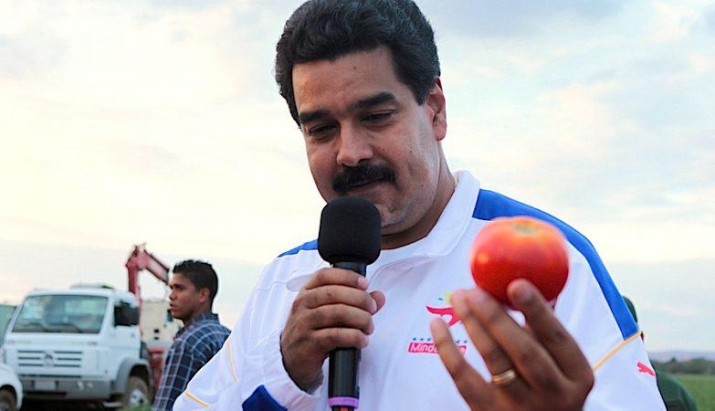 O Presidente da Venezuela, Nicolás Maduro