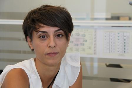 Laura Martín-Francés Martín de la Fuente, investigadora de Antropología Dental da Fundación Atapuerca