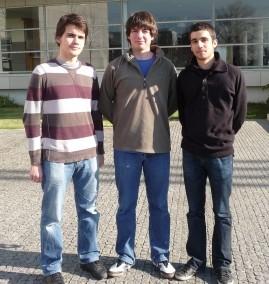 Daniel Carvalho, Guilherme Aresta e Miguel Ferreira