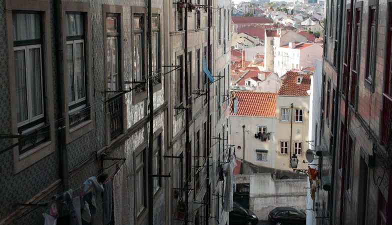 Bairro da Mouraria, em Lisboa
