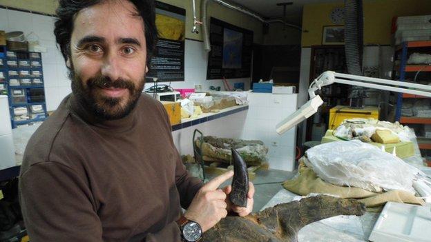 O paleontologista Octávio Mateus, fundador do Museu da Lourinhã