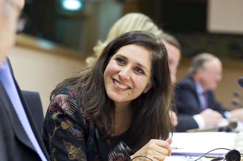 A porta-voz da Comissão Europeia para a Política Regional, Shirin Wheeler