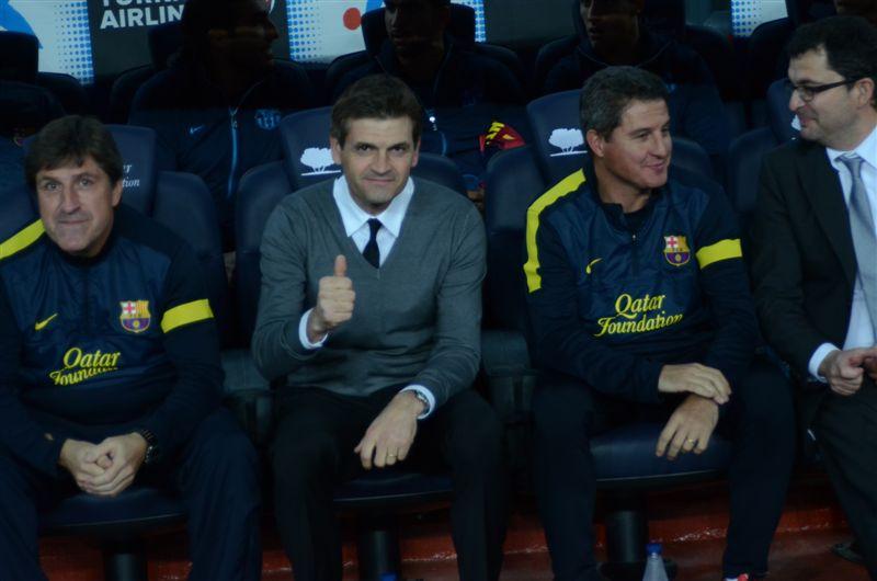 Tito Vilanova, ex-treinador do FC Barcelona
