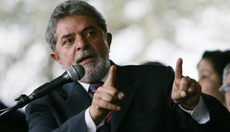 O ex-presidente do Brasil, Lula da Silva
