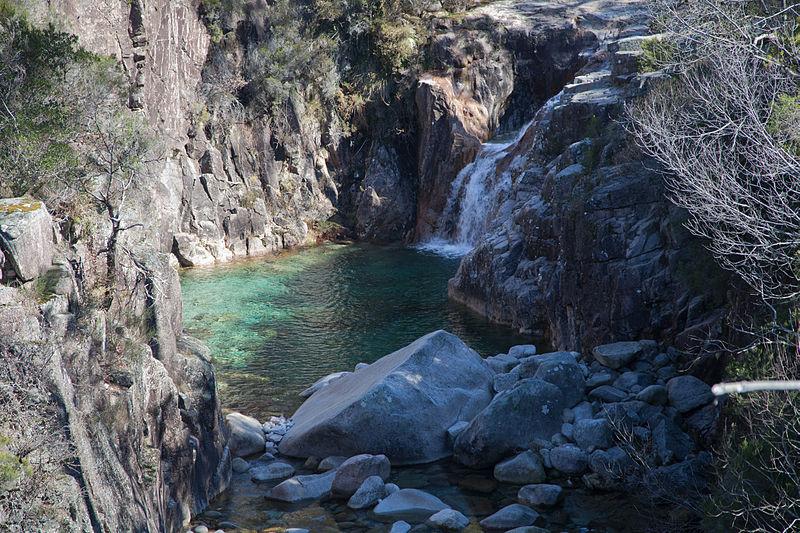 Lagoa no Parque Nacional Peneda-Gerês