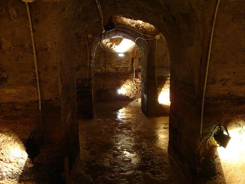Galerias Romanas da Rua da Prata, em Lisboa
