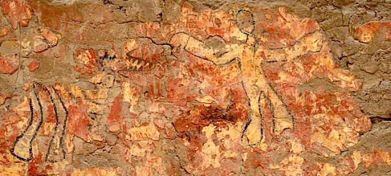 Pinturas pré-colombianas no Perú