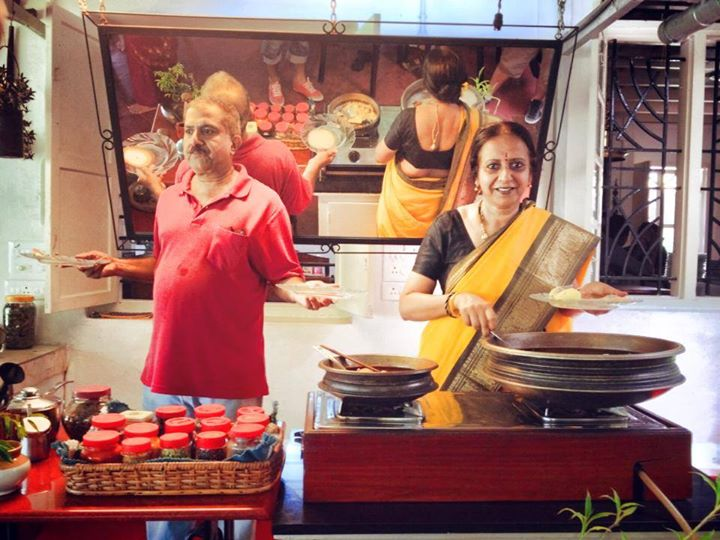 Nelson Carvalheiro visita a famosa Chef Ninny em Kerala, na Índia