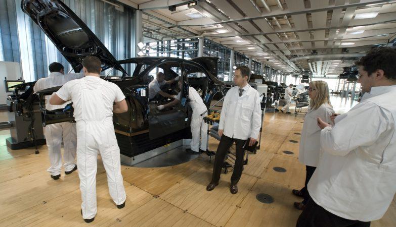 Fábrica Volkswagen em Dresden