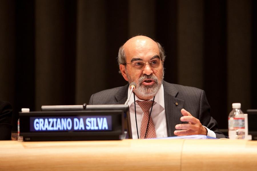 O diretor-geral da FAO, o brasileiro José Graziano da Silva