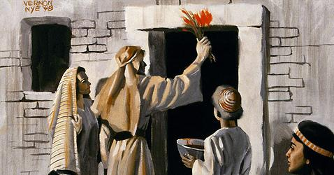 Os judeus celebram a Páscoa para marcar a libertação do povo do cativeiro no Egipto.
