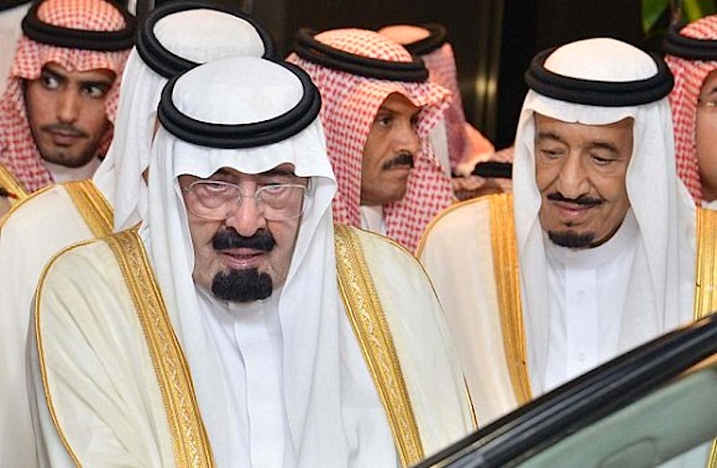 O rei da Arábia Saudita, Abdullah bin Abdulaziz Al Saud