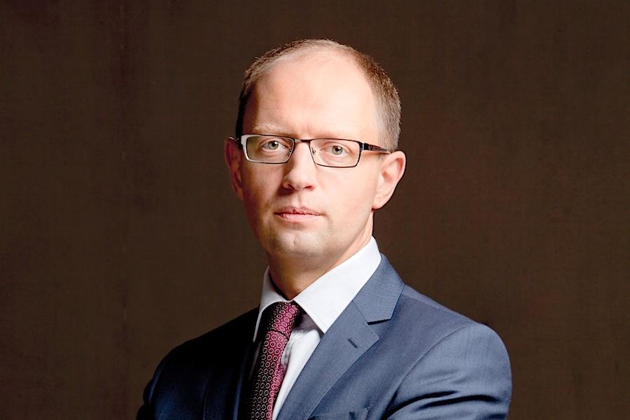 O primeiro-ministro da Ucrânia, Arseniy Yatsenyuk