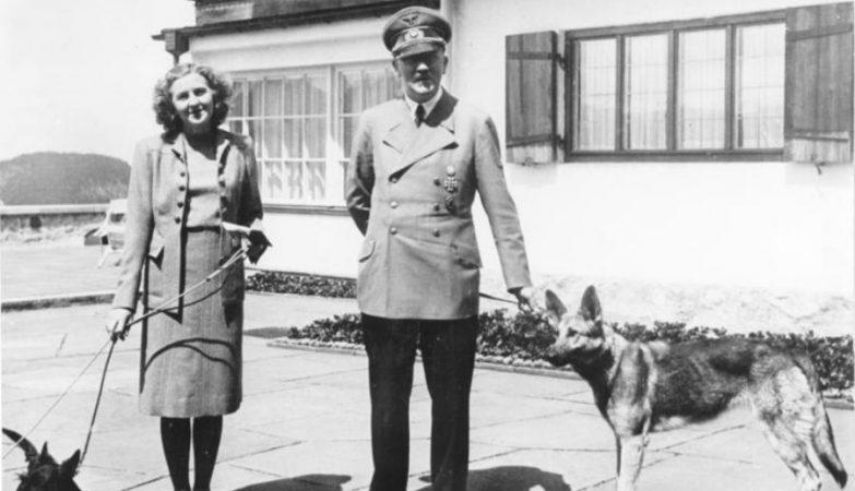 Adolf Hitler e Eva Braun.