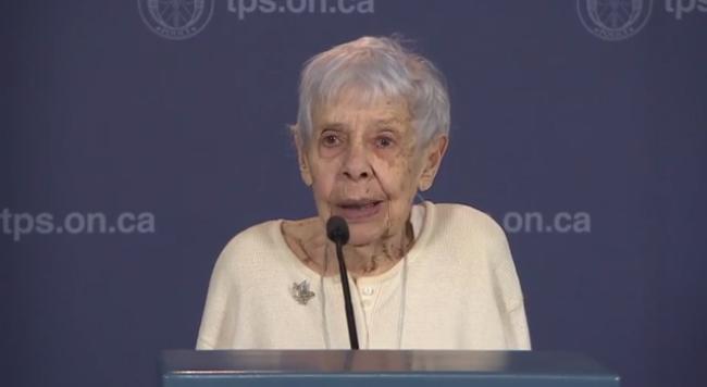 Norma Marshall, a idosa burlada por dois portugueses