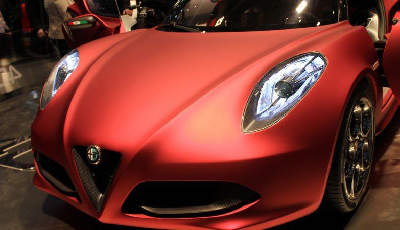 Alfa Romeo 4C, Geneva 2011