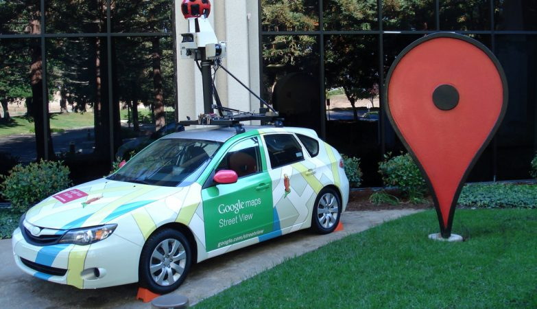 Veículo Google Street Vew