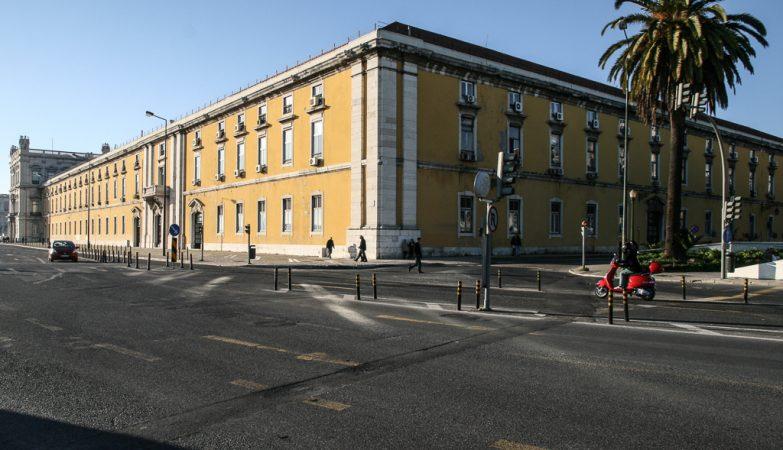 Edifício do Ministério das Finanças em Lisboa