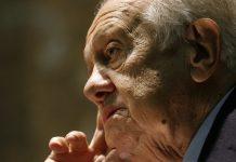 O ex-Presidente da República, Mário Soares