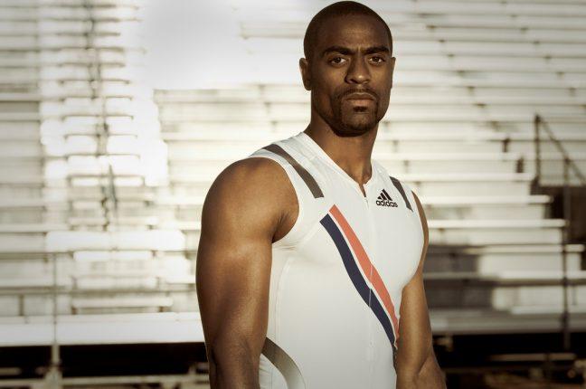 O atleta norte-americano Tyson Gay, 2º mais rápido de sempre atrás de Usain Bolt