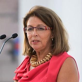 A presidente da Fundação Champalimaud, Leonor Beleza